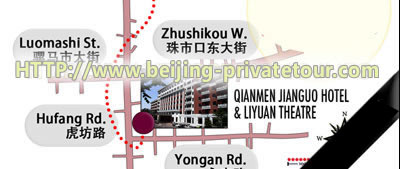 Getting to Liyuan Theatre